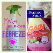 Wie man Febreze macht. So ein einfaches Ein-Schritt-Rezept !!!   – Frugal Living Ideas