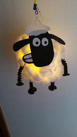Shaun Das Schaf Laterne Anleitung Shaun Das Schaf Laterne Schaf Schafe Basteln