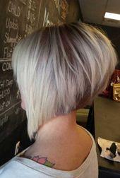 Schicke gestapelte Bob-Haarschnitte, die wir lieben