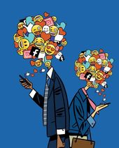 'Never get high on your own supply' – why social media bosses don't use social media #Technology wallpapers.ogysof…   illustration  445 X 55…
