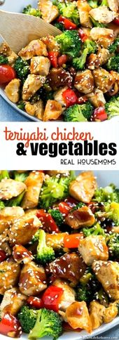 Atemberaubende This Teriyaki Chicken and Vegetables is an easy and healthy meal, cs perf…