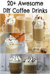 20+ Super DIY Coffee Drink Recipes