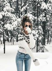 Teddy Coat cute winter outfit for everyday , jacket , shirt , blue jeans , pretty purse , jewelery , adorable , fun , pretty , girl , winter snow , mo...