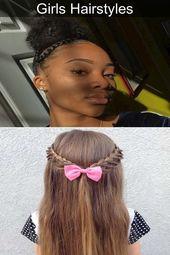 Hairstyle | Ponytail Hairstyles For Children Children's hairstyles for school # die #frisur #frisuren # für #kinder #kinderfrisuren