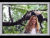 Created and Hand-signed by CELINE DION!