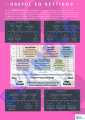Useful EQ Settings POSTER and INFOGRAPHICS