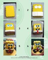 Spongebob Figurine Tutorial by Nicholas Ang CakesDecorcom