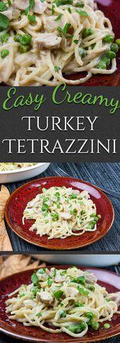 Easy Creamy Turkey Tetrazzini
