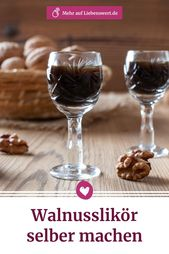 Making walnut liqueur yourself: That's how it works