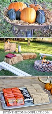 Host a Fall Harvest Party in Your Backyard!