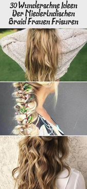 30 gorgeous ideas of Dutch braid women hairstyles