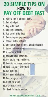 20 einfache Tipps zum schnellen Abzahlen von Schul…