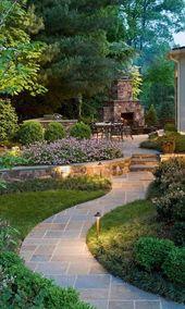 36 Wunderschöne Garten-Landschafts-Ideen, die großartig aussehen – Garten – Chousein Resit