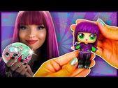 MAL DESCENDANTS 2 LOL Surprise Custom Doll Series 2 DIY | Toy Tutorial | Lil Out… – Banana