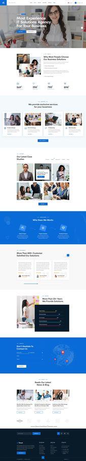 Torun | Technology IT Solutions & Services PSD Template