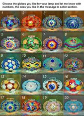 Amazing 3 Globes Customizable Table Lamp. Turkish Lamp, Moroccan Lamp, Mosaic Table Lamp, Desk Lamp, Bedside Lamp, Standing Lamp