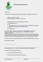 33 Hubsch Elternbrief Vorlage Elternabend Abbildung In 2020 Elternbriefe Elternabend Eltern