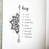 Umfassende Anleitung zum Bullet Journal Key