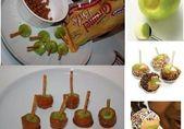 Mini-Karamell-Apfelbissen | Mini Caramel Apple Bite + # 4 Zoll Lollipop Sticks #Apple Bake …   – Caramel Apples