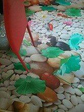 Online Shop Nach 3d Boden Tapete Wasserfall Karpfen Badezimmer Boden Wandmalereien 3d Pvc Selbst Adhesive Wand Aufkleber T Tapeten Wandmalerei Badezimmer Boden