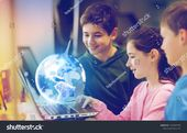 Renewable Energy Science Technology Concept Group Stock Photo (Edit Now) 1453994798