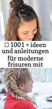 ▷ 1001 + ideen und anleitungen für moderne frisuren mit locken 4