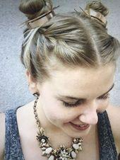 Vintage Boho Hair Bun Cuff +2019 Hair Accessories +Barrettes and Clips+Hair Pins+Beauty and Hair   - Jewelry - #accessories #Barrettes #Boho #bun