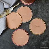 Making stamped leather-based coasters is a good way to provide a bit of replace to your c…
