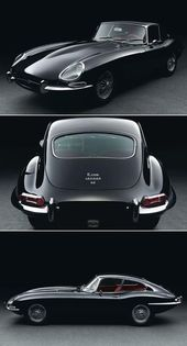 Jaguar E-my car my baby if I need to make a getaway or chase a bad guy she's…