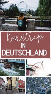 Der perfekte Kurztrip in Deutschland – Kurztrip, Reise, Urlaub – Hochseiltraum   Reiseideen, Orte und Guides