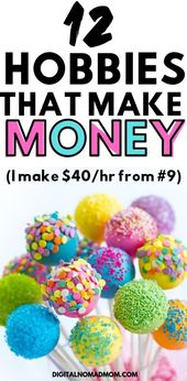 12 Hobbies That Make Money (I Make $40/hr From #9!) – Christa Roberts