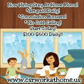 Sign Up And Complete Your Credits And I Will Send You Five Dollars Cold Calling Working From Home Stay At Home