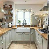 More ideas: DIY Rustic Kitchen Decor Accessories Marble Kitchen Accessories Idea… – Wohnsinn_Küchen