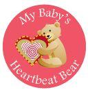 Baby Shower Songs My Baby's Heartbeat Bear - Purusha's Picks Inc