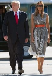 Back To Washington Trump Fashion Melania Trump Fashion