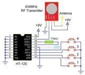 RF-gesteuerter Roboter ohne Mikrocontroller   – TECHY