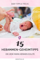 15 midwives insider tips – Baby/Kind