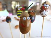 Acorn Buddies | Fun Family Crafts