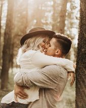 "Kierstin Jones Photography on Instagram: ""Lovin' in the woods🍂 . . . #engaged #junebugweddings #weddingphotographer #elopementphotographer #utahweddingphotographer…"""