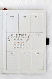 35+ Beste September Weekly Unfold-Ideen für 2019