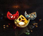 Keramik Kerzenhalter Raku Seerose von FedericoBecchettiArt   – Cool idea