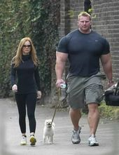 Image result for muscle man with chihuahua