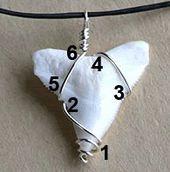 Wie man einen Haifischzahn oder eine andere dreieckige Form einwickelt – Ein Perücke … – Diyjewelryeasy.club