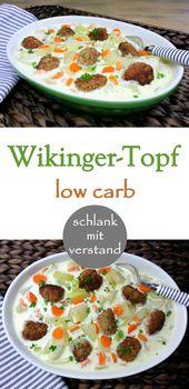 Olla vikinga baja en carbohidratos   – Essen und Trinken