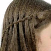 How to Do a Waterfall Braid? DIY