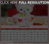 Cute December 2020 Calendar For Events New Planning | Free Printable Calendar & …