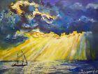 Ölbild Ölgemälde  Landschaft  Malerei Kunst Modern russischer Maler 40×50 #An… – #kunst #landschaft #Malerei #modern