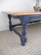 color for the chest/coffee table – Navy Coffee Tab…