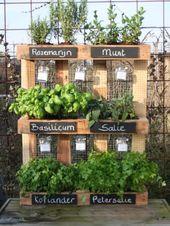 20 Holzpalettenkreationen zur Dekoration von Haus und Garten