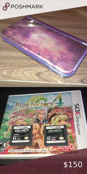New Nintendo 3DS XL with 3 Games New! Nintendo 3DS XL Galaxy style (charger incl… – My Posh Closet